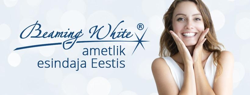 beaming white eesti esindaja